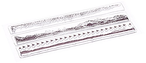 Штамп силикон Текстурные грани
