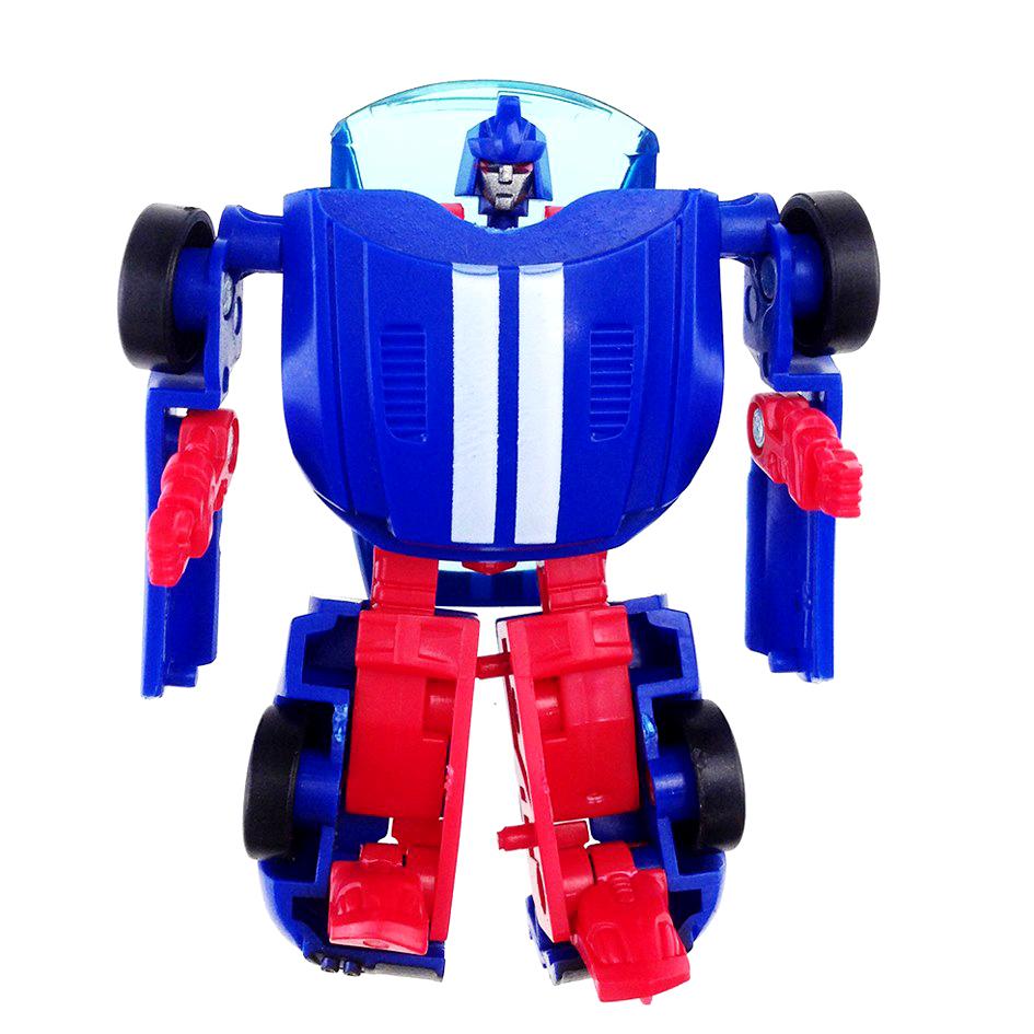 "Робот-трансформер ""Машинка Мустанг"" пластмас."