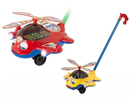 Каталка Мой вертолет (с музыкой, свет)