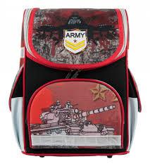 Рюкзак Alliance Army ортопедический черно-красный