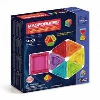 АКЦИЯ-20 Игр Конструктор магнитный Магформерс Window Basic 14 дет.