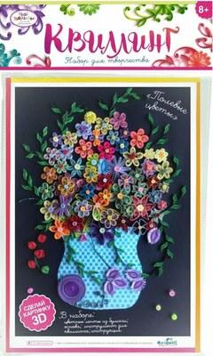 Творч Квиллинг Полевые цветы