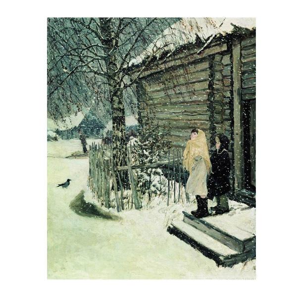 Картина по номерам 40*50 А. Пластов. Первый снег