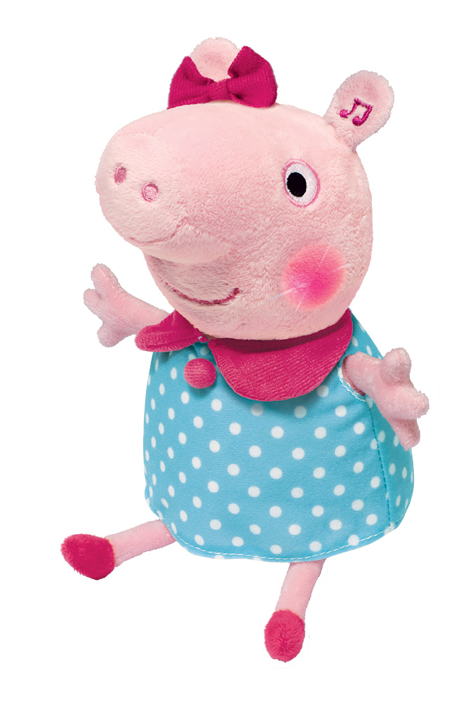 АКЦИЯ-20 Игр Мягконабивная Peppa Pig Пеппа движущ. 30 см.