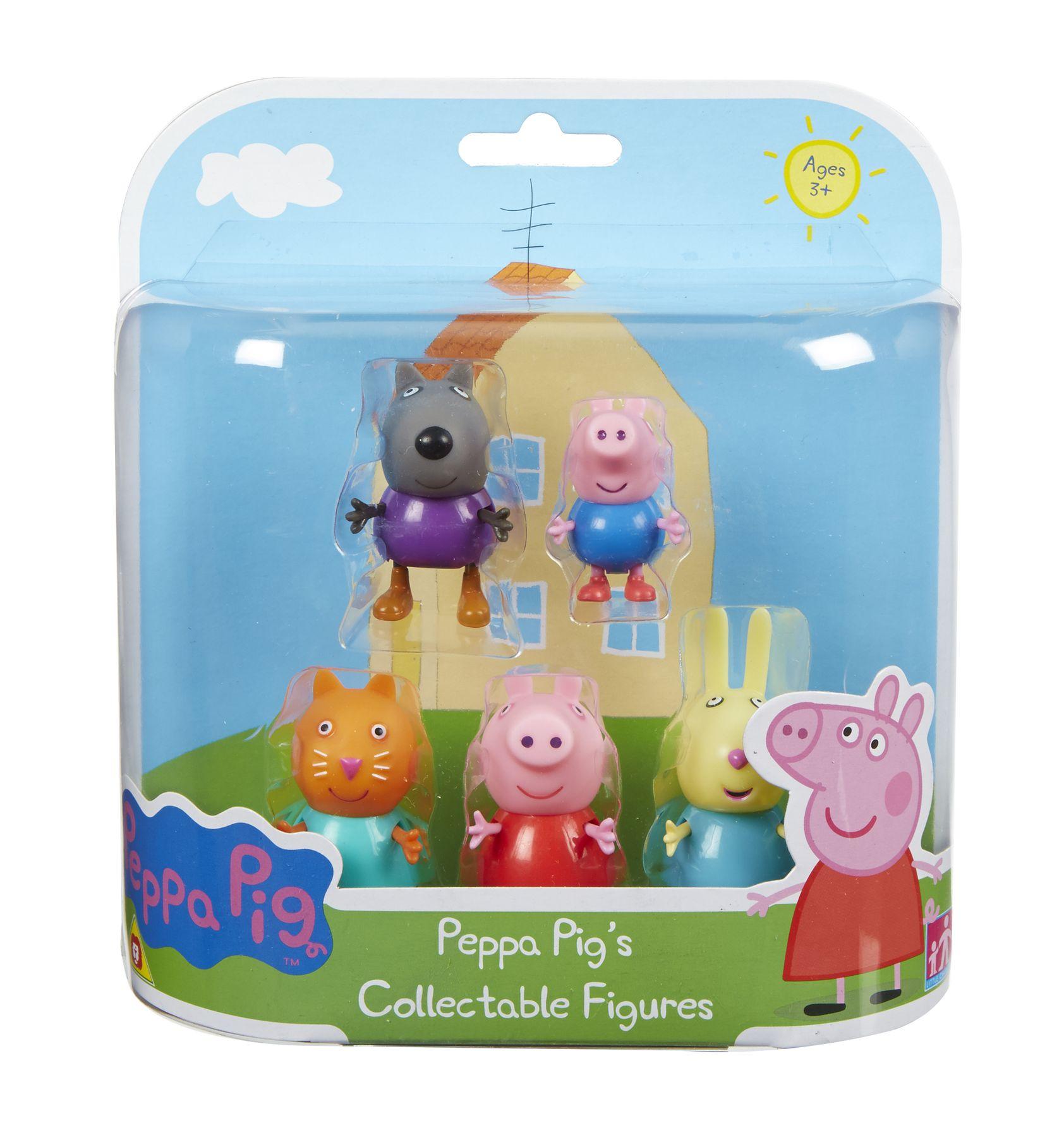 Набор Peppa Pig Пеппа и друзья 5 фигурок