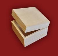 Творч Заготовка из дерева Шкатулка 210*70*70мм сосна