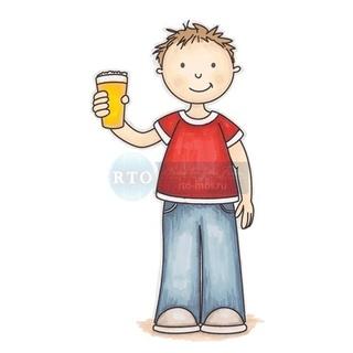 Штамп силикон А7 Cheers