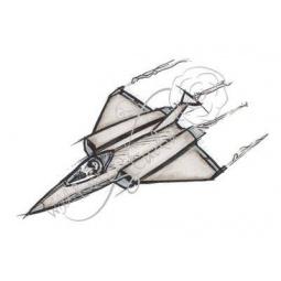 Штамп силикон А7 Fighten Jet