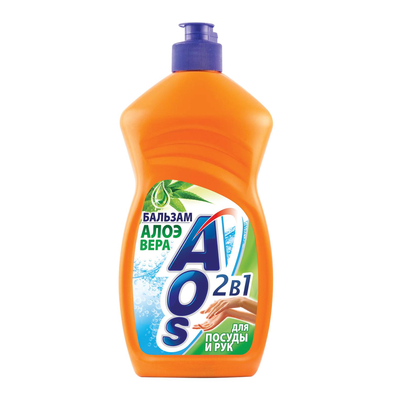 Быт AOS жидкость д\посуды  500 г в ассортименте