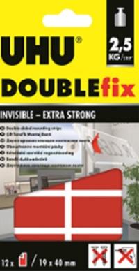 Клеевые подушечки UHU Double Fix прозрачные для стекла