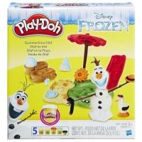 Творч Play-Doh Летние приключения Олафа + пластилин