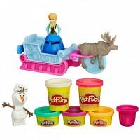 Творч Play-Doh Холодное Сердце + пластилин 5шт. 196гр.