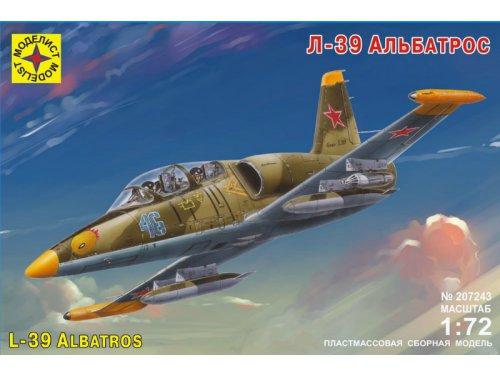Сборная модель Самолет Л-39 Альбатрос 1/72
