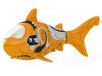 Роборыба Акула пластмас. на батар. оранжевая