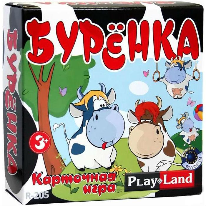 Игра АКЦИЯ19 Игр Настольная Буренка (карточная)
