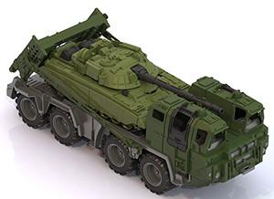 """Машина Военный тягач """"Щит"""" с танком пластмас. 53см"""