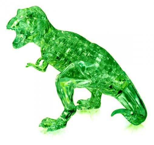 Головоломка Динозавр зеленый 3D 49 дет.