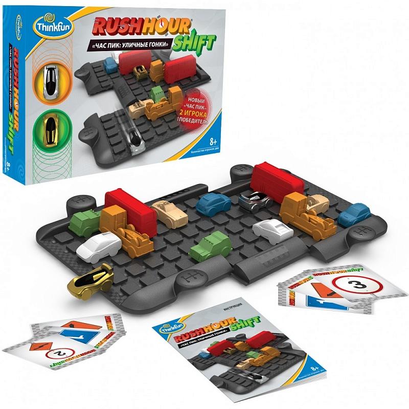 Игра АКЦИЯ19 Игр Набор Час пик: Уличные гонки пластмас.