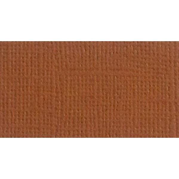 Бумага д/скрап Кардсток 30,5*30,5 Коричневый текстурированный