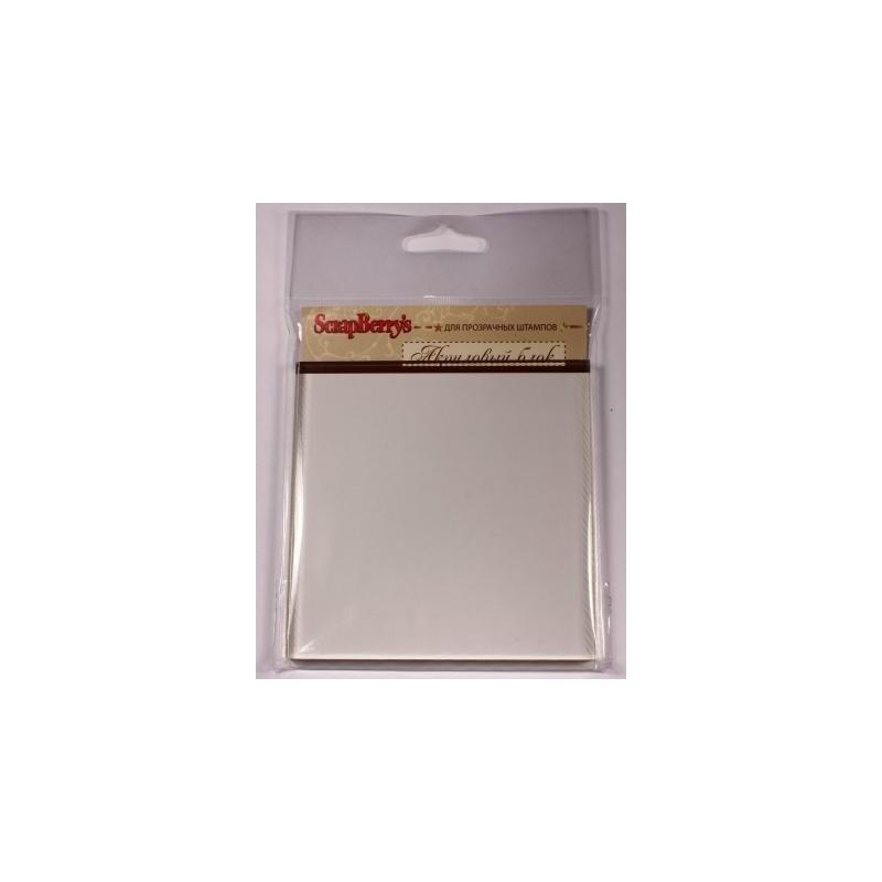 Блок акриловый для прозрачных штампов 100*100*10мм