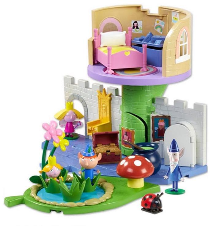 АКЦИЯ-20 Игр Набор Ben & Holly Волшебный замок с фигуркой Холли
