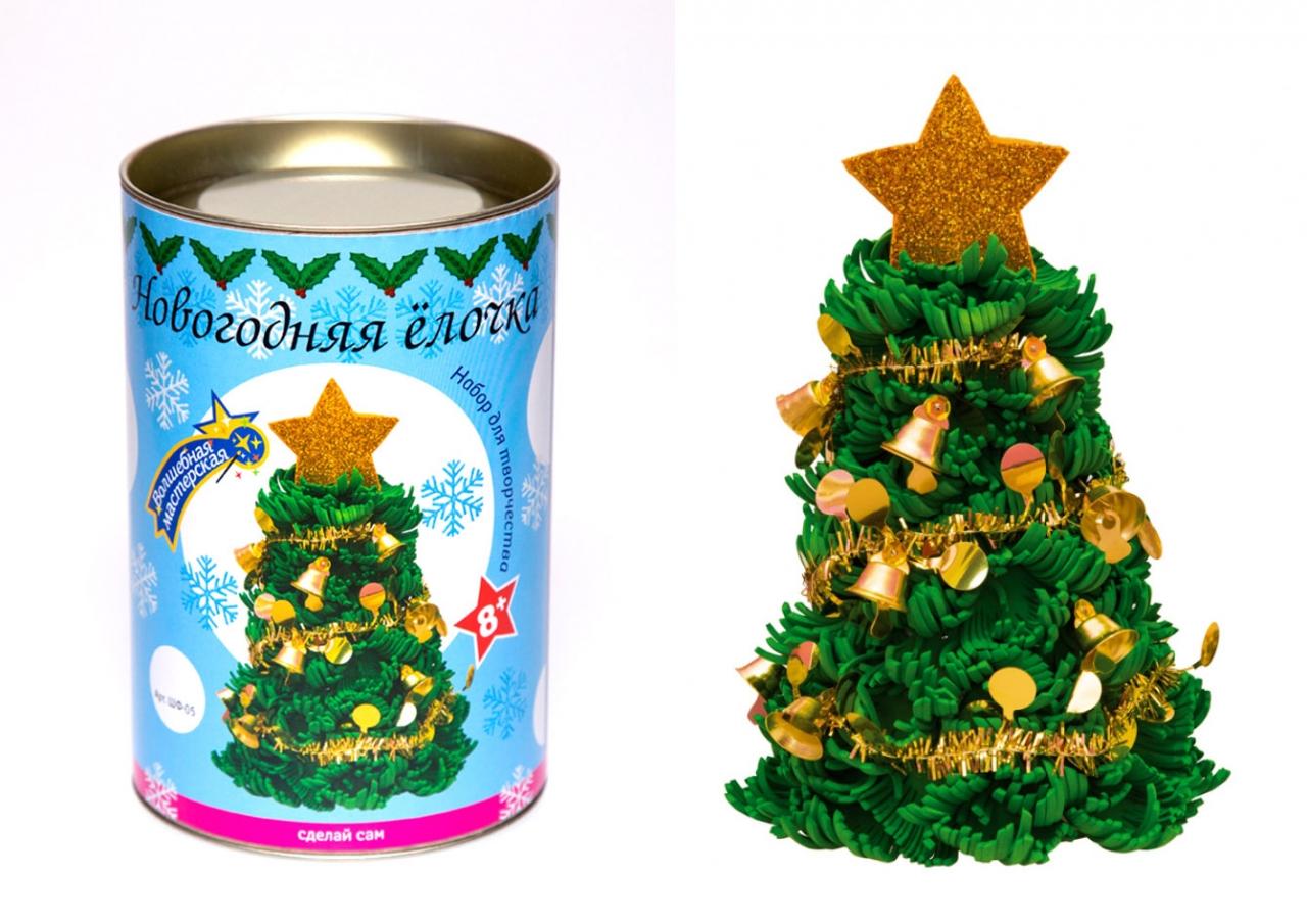 Творч Набор для творчества Новогодняя елочка