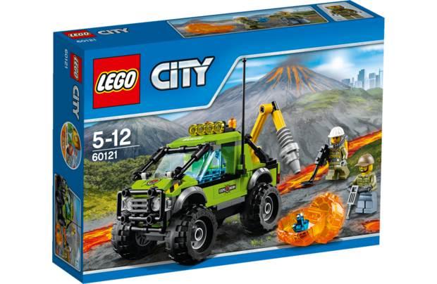 Конструктор Lego City Город Грузовик исследователей вулканов