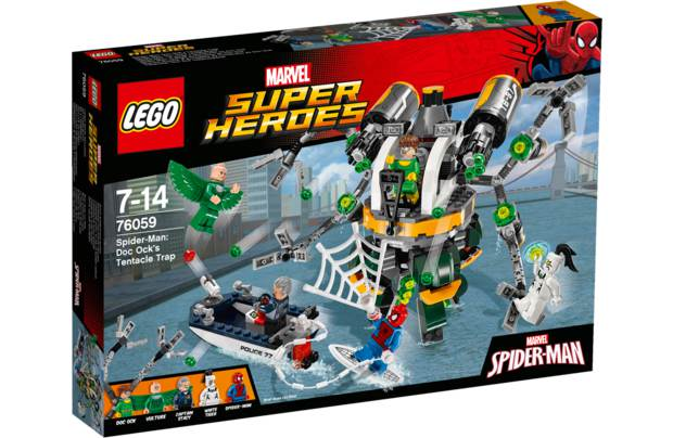 Конструктор Lego Super Heroes Человек-паук:в ловушке доктора осьминога