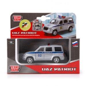 Машина УАЗ Патриот полиция 1:50 металл