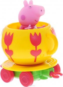 Каталка Чашка с фигуркой Peppa Pig