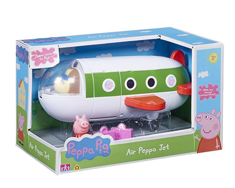 АКЦИЯ-20 Игр Набор Peppa Pig Самолет с фигуркой Пеппы