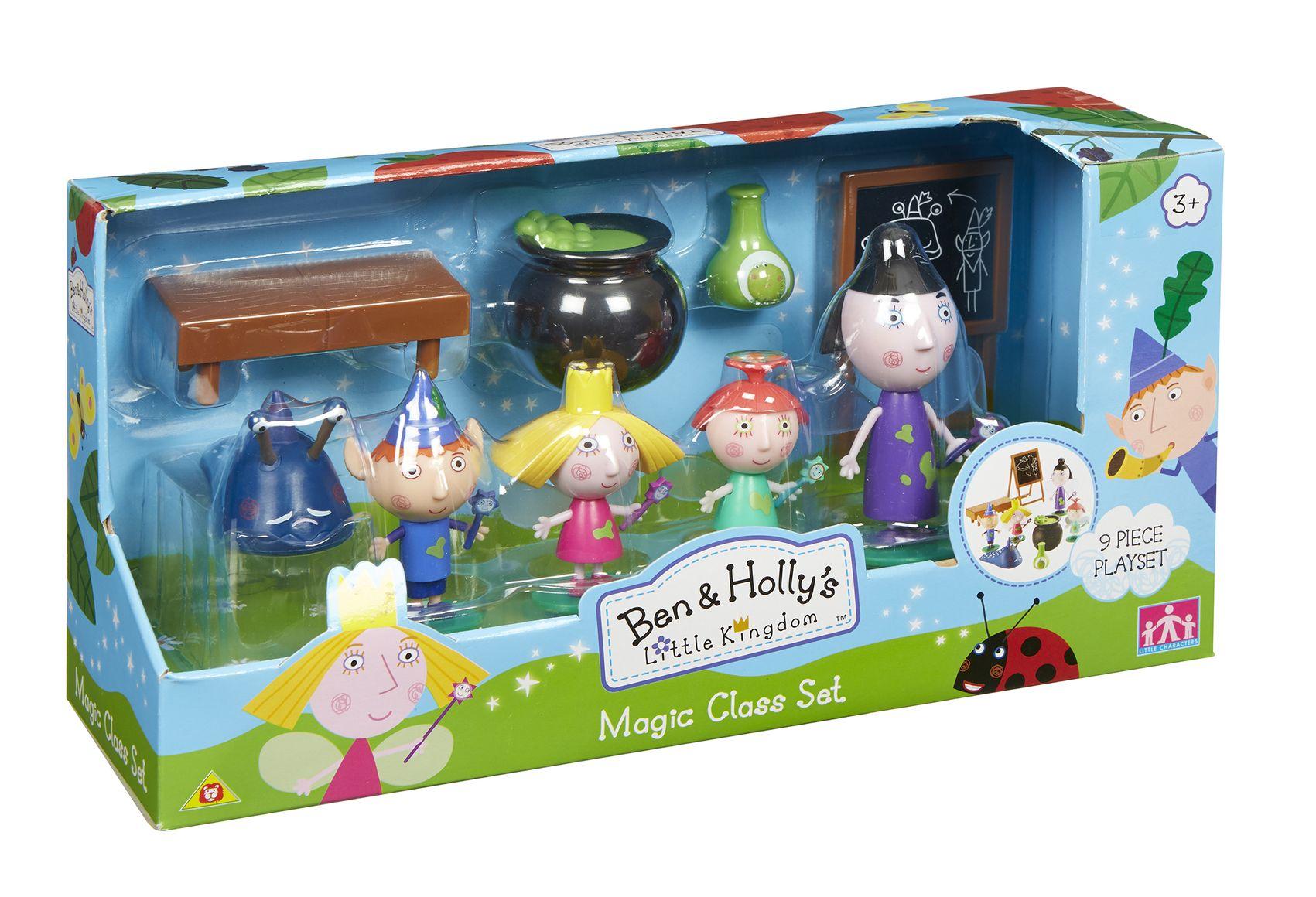 АКЦИЯ-20 Игр Набор Ben & Holly Школа Магии 5 фиг в наборе