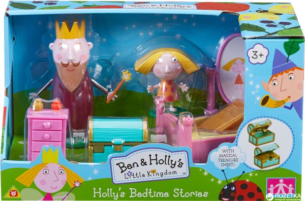 АКЦИЯ-20 Игр Набор Ben & Holly Сказка на ночь 2 фиг в наборе