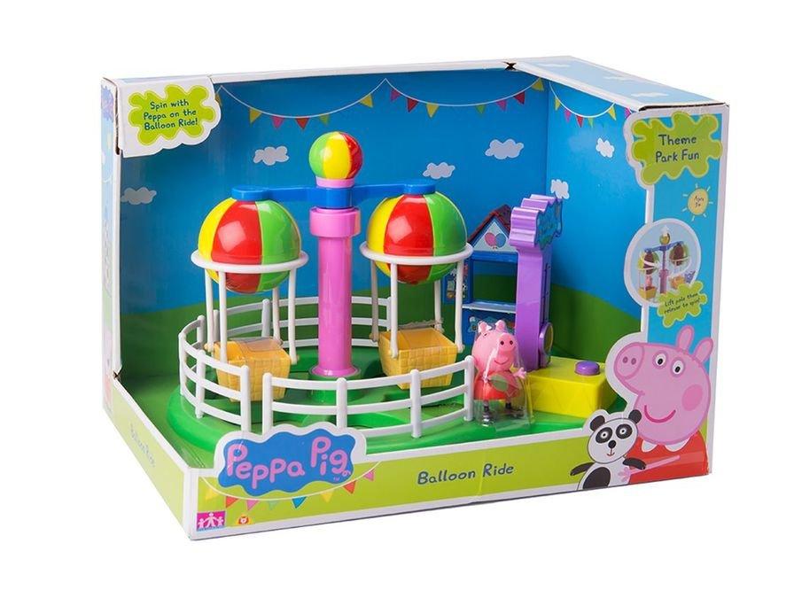 АКЦИЯ-20 Игр Набор Peppa Pig Луна Парк Карусель