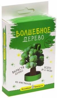 Набор для экспериментов Волшебные кристаллы Дерево зеленое
