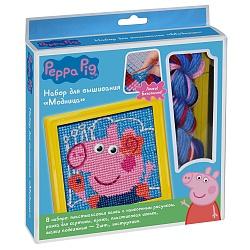 Творч Набор для вышивания Peppa Pig. Радуга