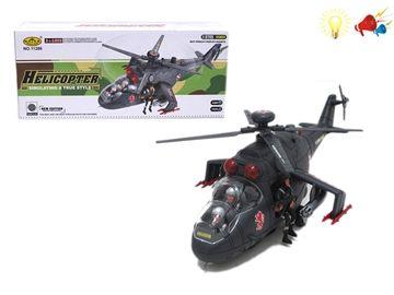 Вертолет свет, звук