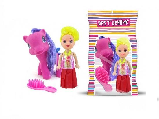 Набор Пони с куклой в ассортим.