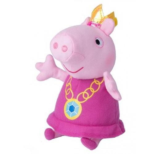 Мягконабивная Пеппа-принцесса 20см.