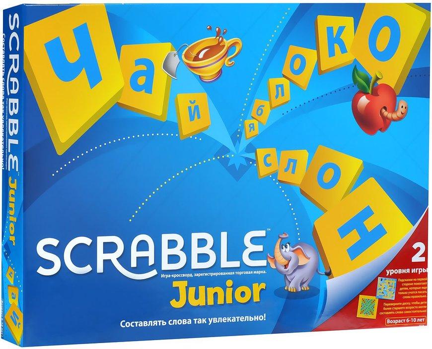Игра АКЦИЯ19 Игр Настольная Скрэбл Scrabble Junior
