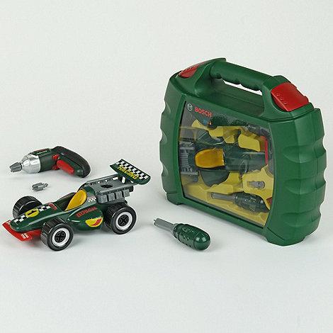 Инструменты Bosch со сборной моделью гоночного автомобиля (мини)