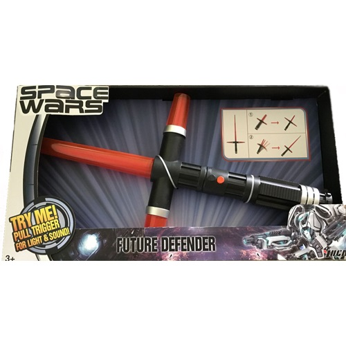 АКЦИЯ19 Игр Оружие Space wars Меч на батар. свет, звук