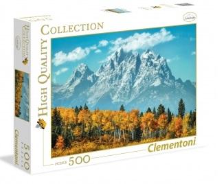 Пазл 500 Clementoni 35034 США. Вайоминг. Гора Гранд-титон осенью