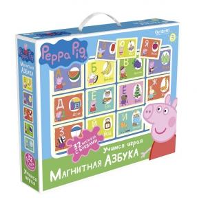 Игра Настольная Peppa Pig Магнитная азбука