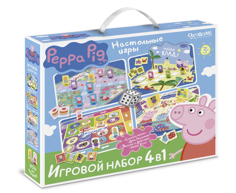 Игра Набор Peppa Pig Сладкая жизнь, День подарков, Эмоции и действ., Ден 4в1