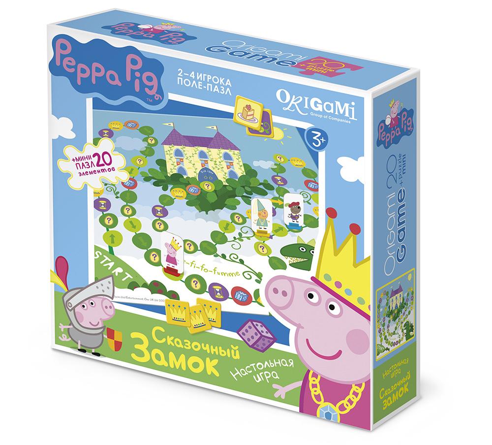 Игра Настольная Peppa Pig Поле-пазл Сказочный замок