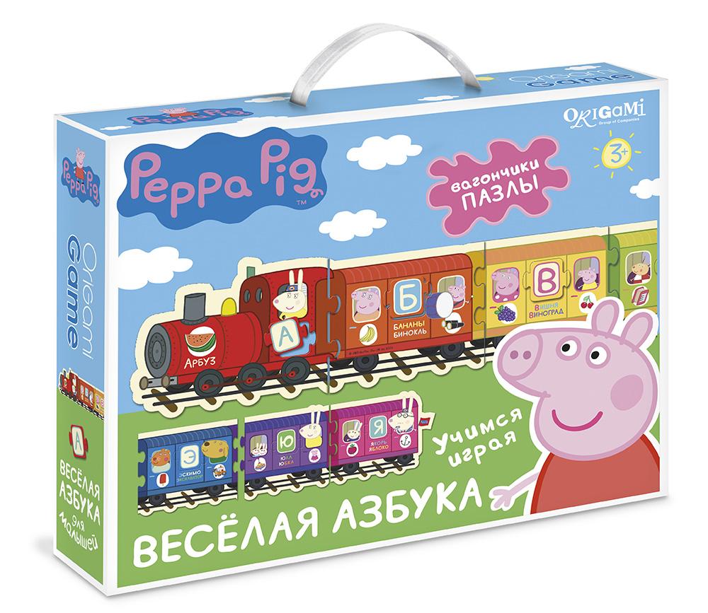 Игра Настольная Peppa Pig Паровозик Веселая Азбука