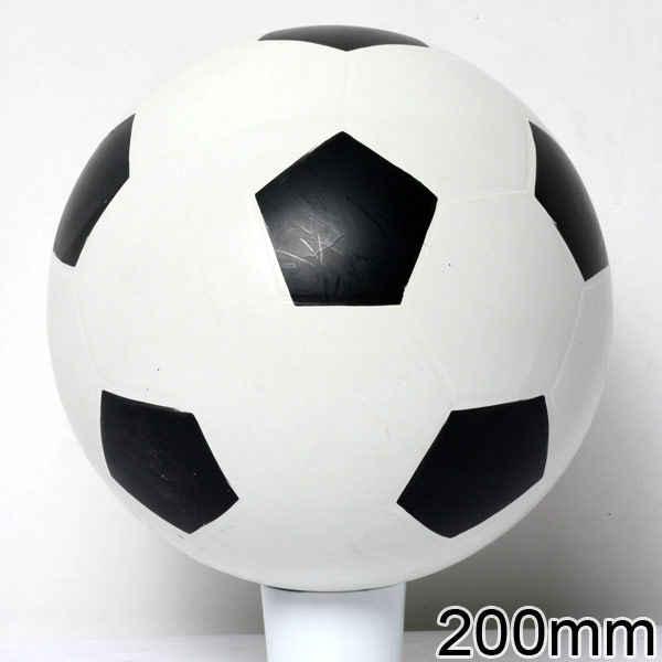 Мяч 200мм лакир. эмблема футбол