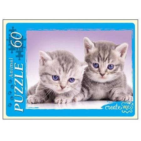 Пазл 60 Забавные котята