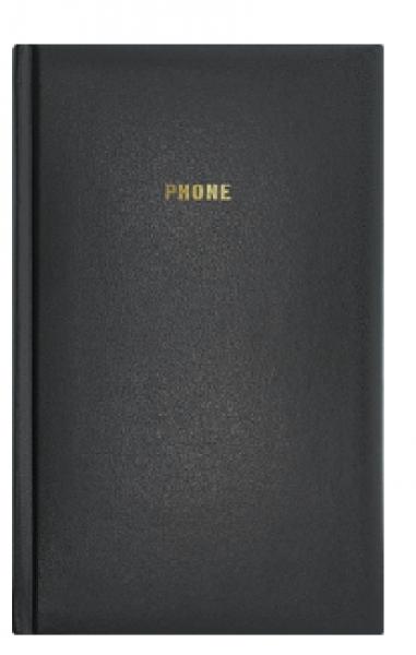 Телефонная книжка А5 ARIANE бумвинил черная